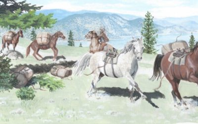 Loraine Kemp on Illustrating Growing Up in Wild Horse Canyon