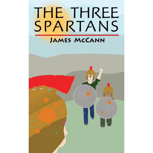 Cover for The Three Spartans